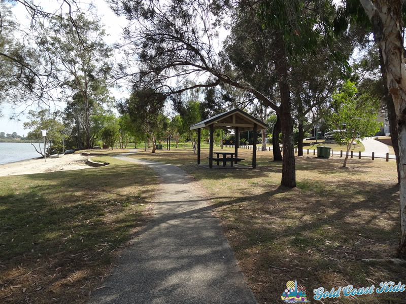 Photo of Picnic Area Near Swimming Beach at Charles Holm Park