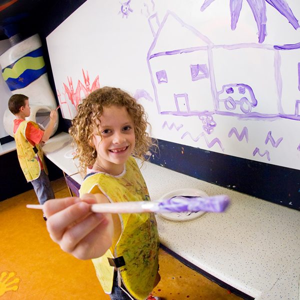 Photo of Zone 4 Kids Leonardo's Painting Room