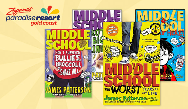 Win 4 Middle School Books By James Patterson Gold Coast Kids