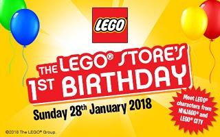 LEGO Stores 1st Birthday